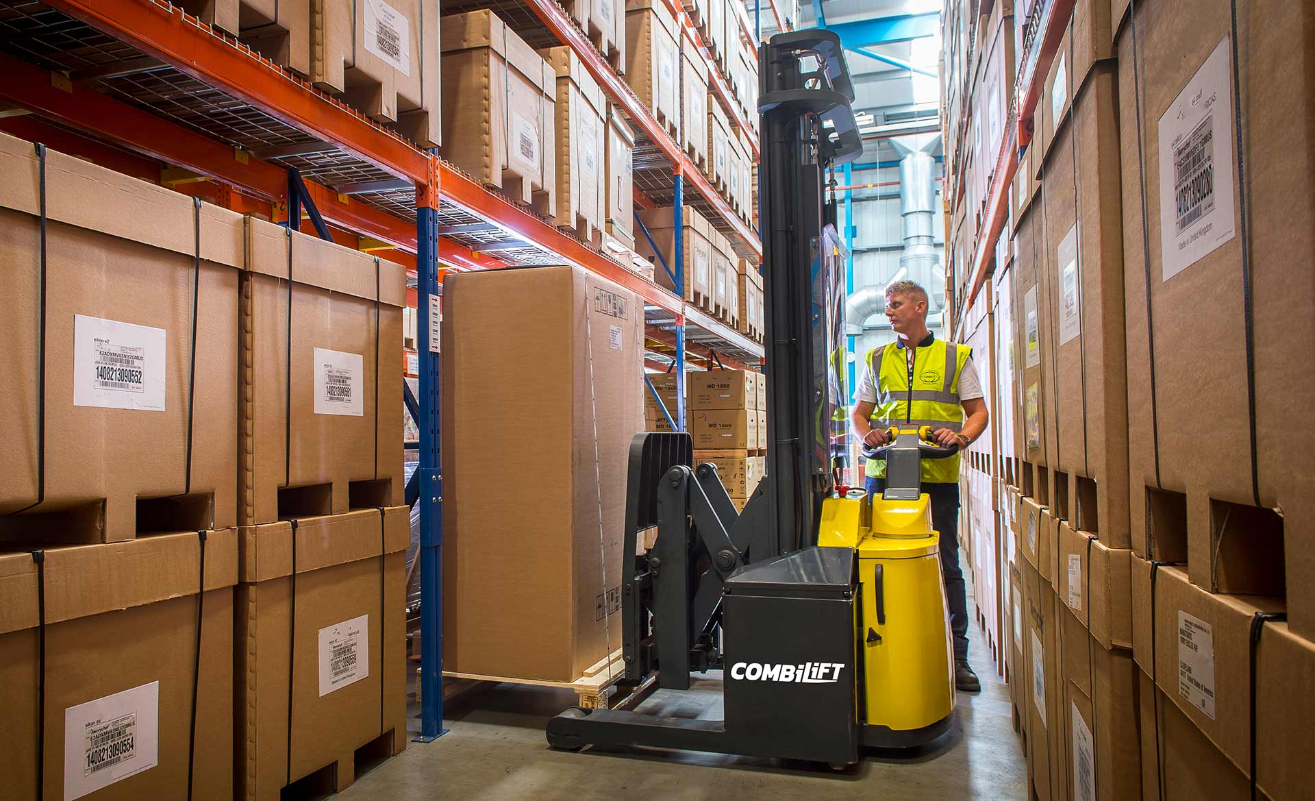 walk behind lifts for warehouses
